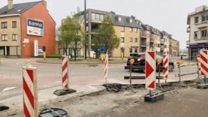 Files door gebrekkige signalisatie: werken aan rotonde stilgelegd