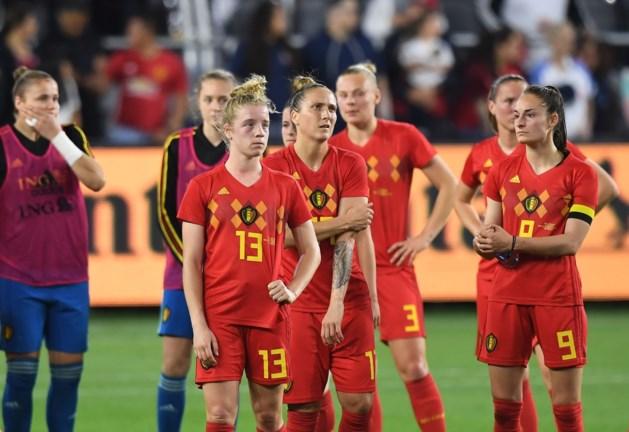 Red Flames verliezen vriendschappelijke wedstrijd tegen topland Amerika met zware cijfers