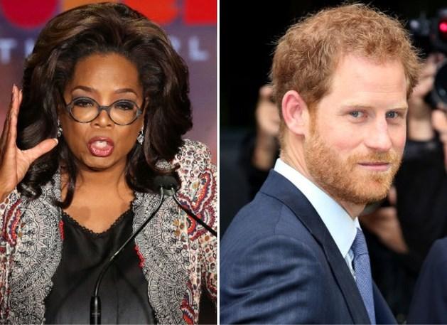Prins Harry en Oprah werken samen aan een documentaire over mentale gezondheid