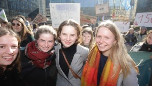 1.100 betogers, vooral grootouders en kleinkinderen, op dertiende klimaatmars