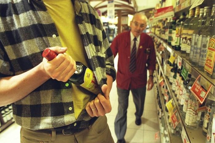 Hardnekkige whiskey-dief riskeert 12 maanden cel