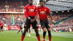 Lukaku met United moeizaam voorbij West Ham dankzij twee goals van Pogba