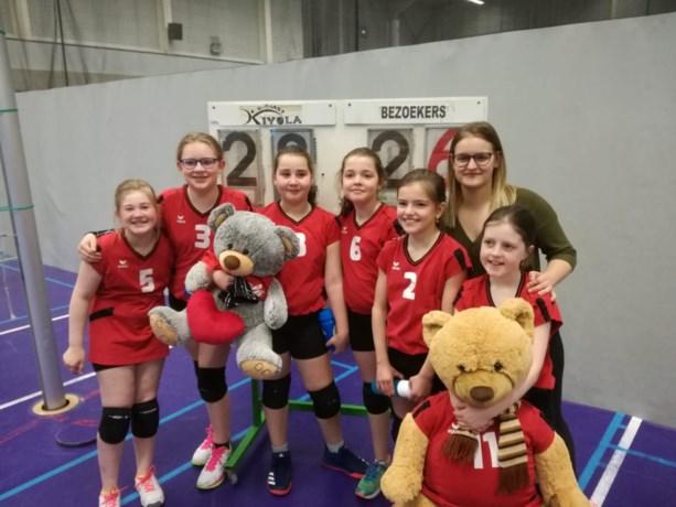 Meisjes U11B Kivola Riemst winnen alle wedstrijden