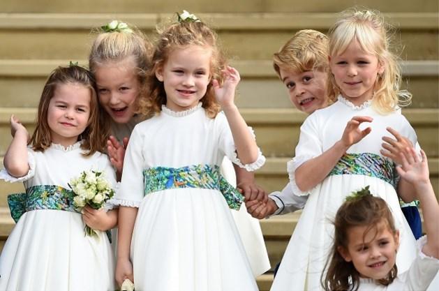 Prins George dolt met zijn achternichtje op uitstap met gezin