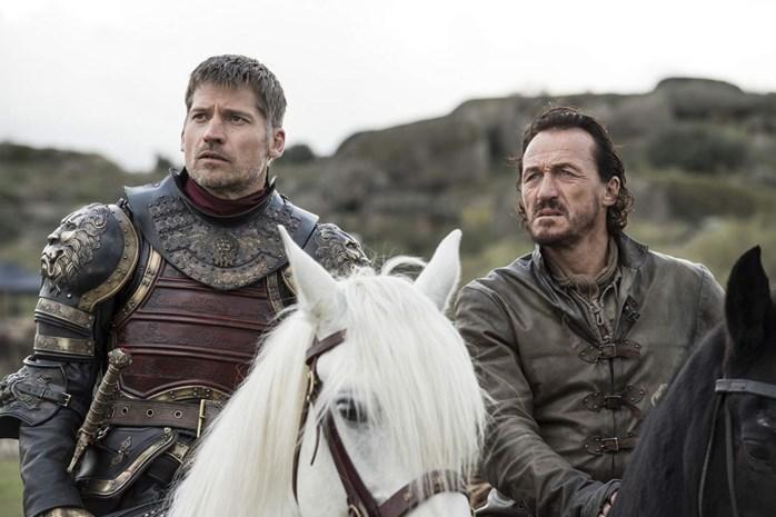 Overlevers bij uitstek Jaime en Bronn nemen afscheid van 'Game Of Thrones'