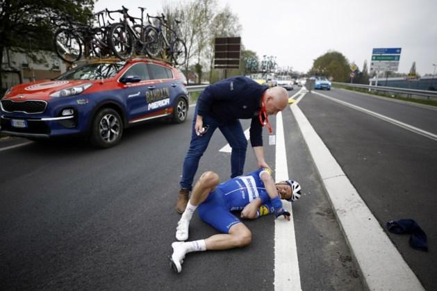 Iljo Keisse ging met succes onder het mes na zijn zware val in Parijs-Roubaix