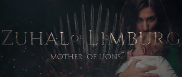 "Demir surft mee op Game Of Thrones-hype: ""Zuhal of Limburg, mother of lions"""