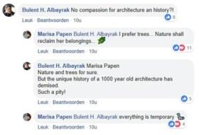 Berings naaktmodel Marisa Papen juicht brand in Notre-Dame toe in Facebook-post