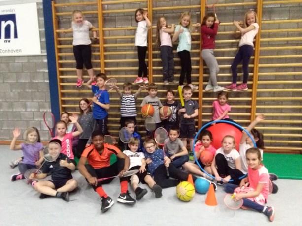Kinderen en kleuters doen volop aan sport tijdens de vakantie