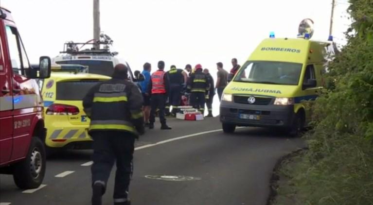29 Duitsers komen om bij buscrash op Madeira