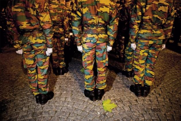 Kandidaat-onderofficieren maken kennis met militaire leven