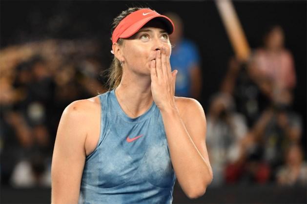 Sharapova blijft op de sukkel en geeft ook forfait voor WTA Stuttgart