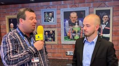 """Luca Brecel blikt vooruit op WK snooker: """"Ik heb veel vertrouwen"""""""