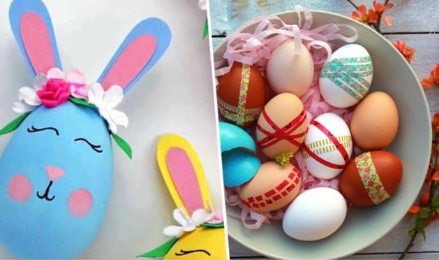 Drie tips om de eieren van je kippen nog snel te versieren voor Pasen