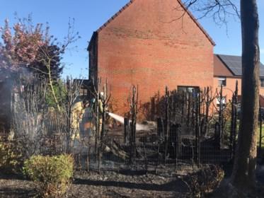 Buren gaan brandende haag met tuinslang te lijf en redden zo aanpalende woning