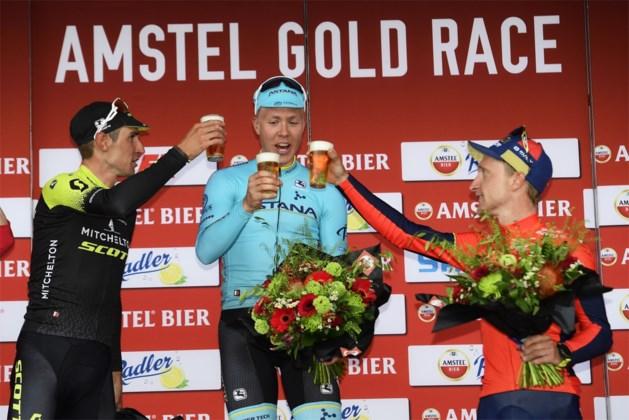 Straffer kan niet: Team Dimension Data met volledig podium van vorig jaar naar Amstel Gold Race
