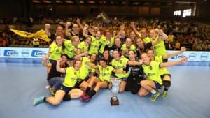 Handbalclub Sint-Truiden wint beker van België ondanks trage start