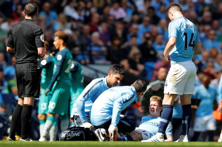 """Kevin De Bruyne valt opnieuw geblesseerd uit bij Manchester City: """"Spierblessure"""""""