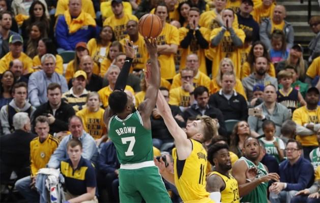 Boston Celtics al bijna zeker van tweede ronde in play-offs van NBA