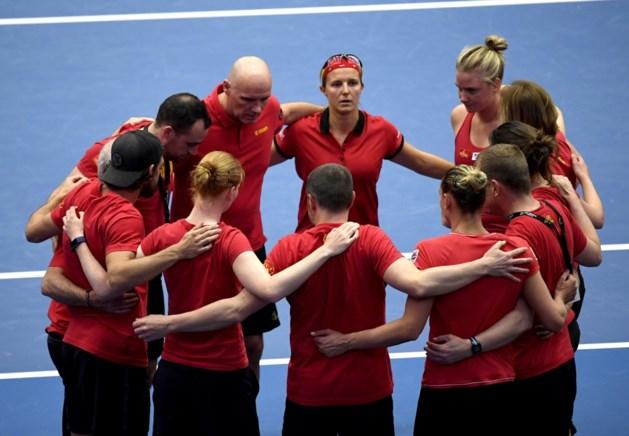 """België zakt ondanks sterke prestatie in Fed Cup uit Wereldgroep 1: """"Het gevoel van trots overheerst"""""""