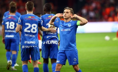 Racing wint voor het eerst sinds 2012 in Luik en zet Club Brugge onder druk