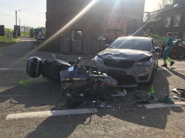 Twee zwaargewonden bij motorongeval in Tongeren