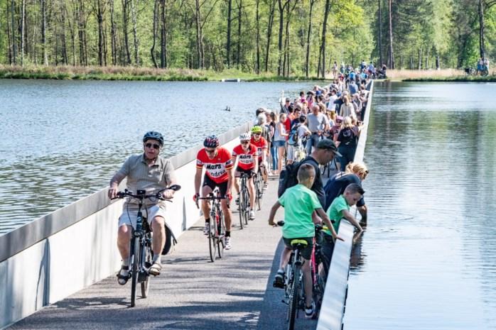 Limburgs fietsroutenetwerk breekt alle records in paasvakantie