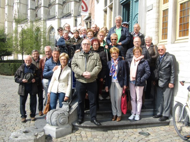 Neos Borgloon op uitstap naar Mechelen