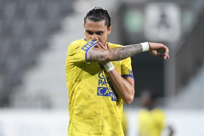 Teixeira riskeert een speeldag schorsing na rood tegen Eupen