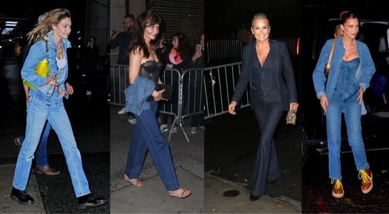 Geen idee hoe je jeans combineert? Topmodel Gigi Hadid en haar vrienden tonen het voor