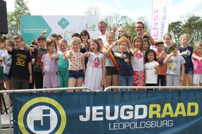Eerste rookvrije generatie op de rails in Leopoldsburg