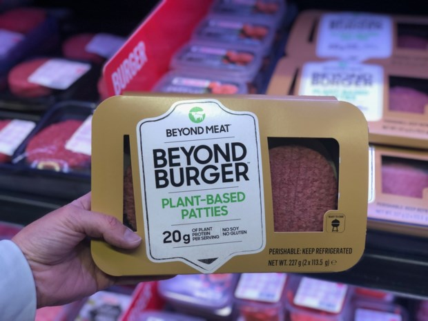 Binnenkort in de winkelrekken: vegetarische burger die kan 'bloeden'