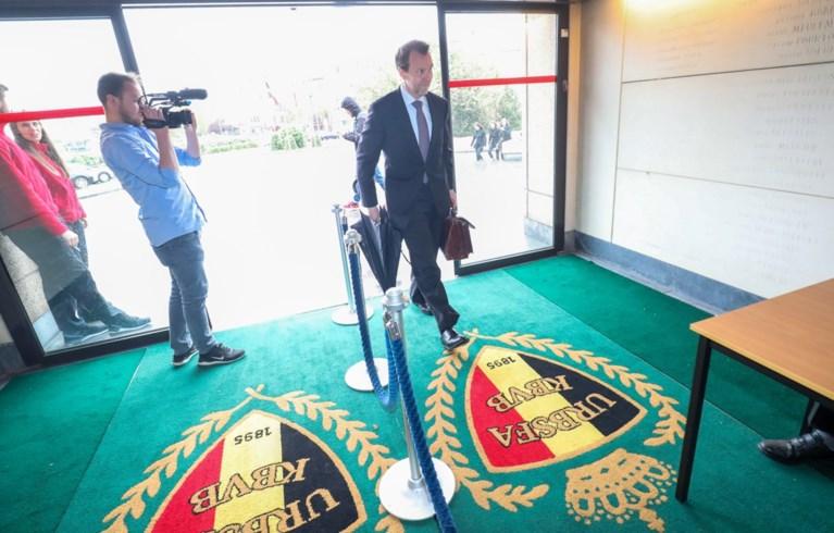 Schrik voor boze fans? Extra veiligheidsmaatregelen op hoofdzetel van Belgische Voetbalbond