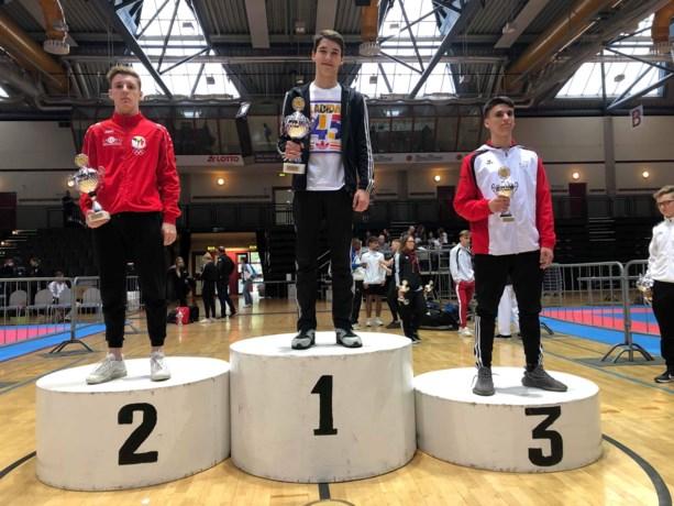Kenneth Gabriels pakt zilver op 24ste Internationale Krokoyama Cup karate in Koblenz