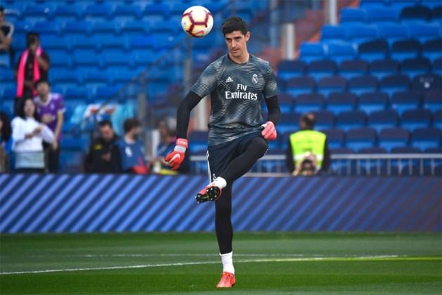 Staat Courtois straks voor het eerst onder trainer Zidane onder de lat bij Real Madrid?