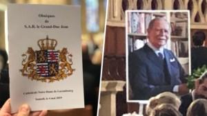 Belgische royals nemen afscheid van oud-groothertog Jean van Luxemburg