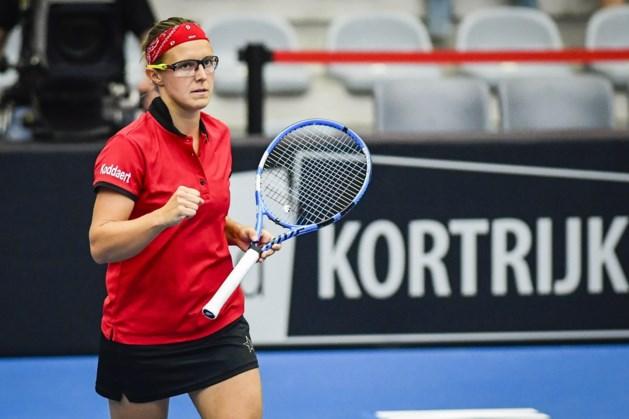 Na de stuntzege in de Fed Cup: Kirsten Flipkens moet meteen opgeven in Istanboel