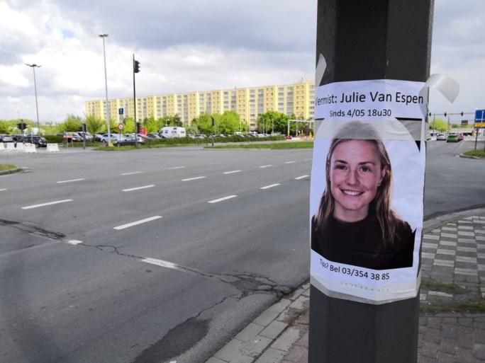 Zoekactie naar vermiste Julie (23) voorlopig gestaakt