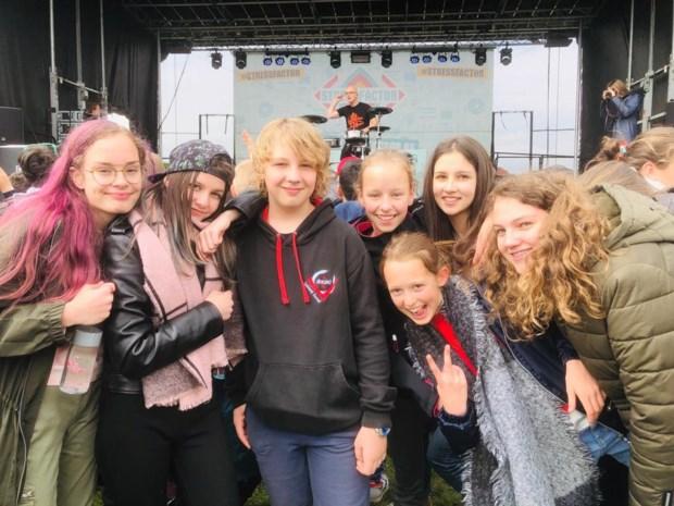 Looise leerlingen genieten van eigen festival tijdens schooluren