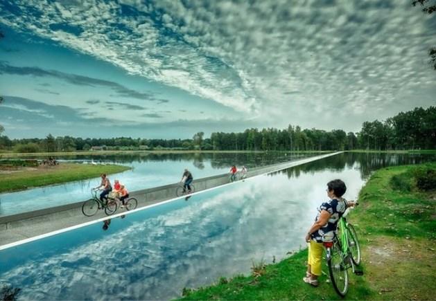 Britse krant The Guardian lovend over Limburgs fietspad