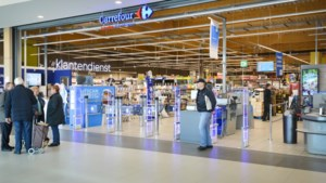 Carrefour in Shopping 1 in Genk toch dicht