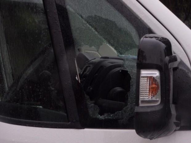 Doodgeschoten BMW-bestuurder werd gefilmd tijdens inbraak in bestelwagens