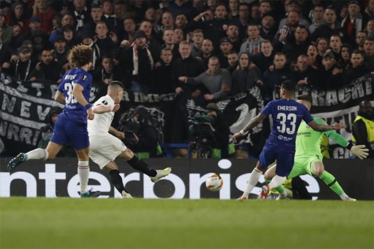 Eden Hazard trapt Chelsea vanop de stip naar de finale van de Europa League
