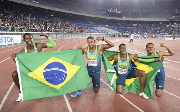 Brazilië verrast favoriet Verenigde Staten op 4x100m op World Relays in Japan