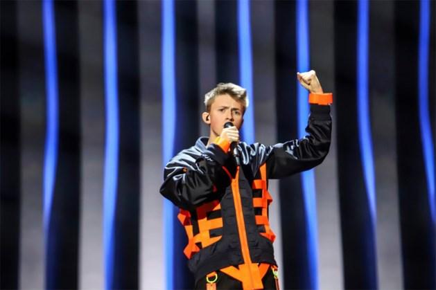België haalt de finale van het Eurovisiesongfestival niet