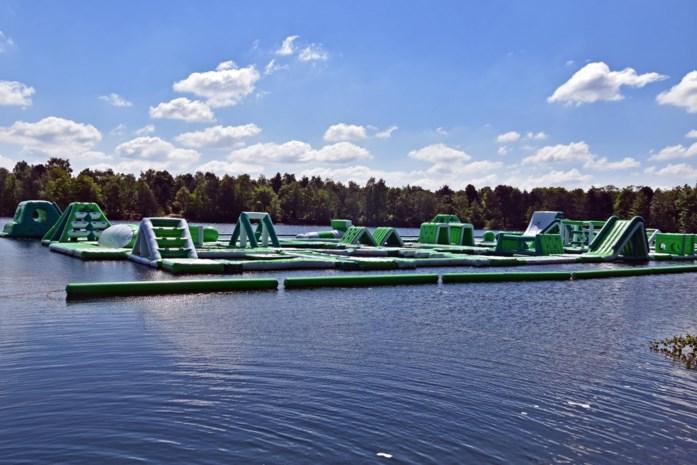 Grootste waterpark van België ligt aangemeerd in De Vossemeren
