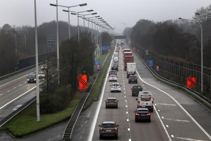 Maandag starten werken E314 voor derde rijstrook richting Nederland