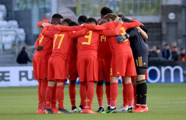Belgische U17 strandt in kwartfinales van EK na nederlaag tegen Nederland