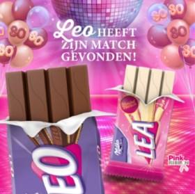 Chocoladereep Leo krijgt er een witte variant bij: Lea