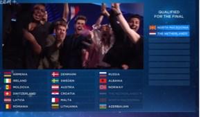 Nederland maakt favorietenrol waar in tweede halve finale Songfestival